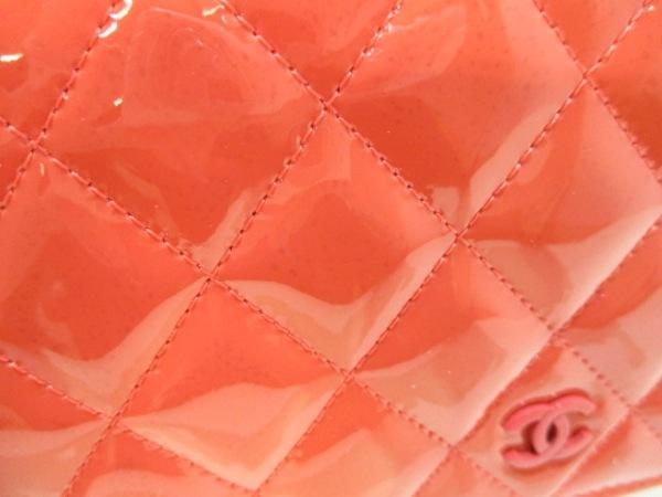 CHANEL(シャネル) 財布 マトラッセ A33814 ピンクオレンジ 7