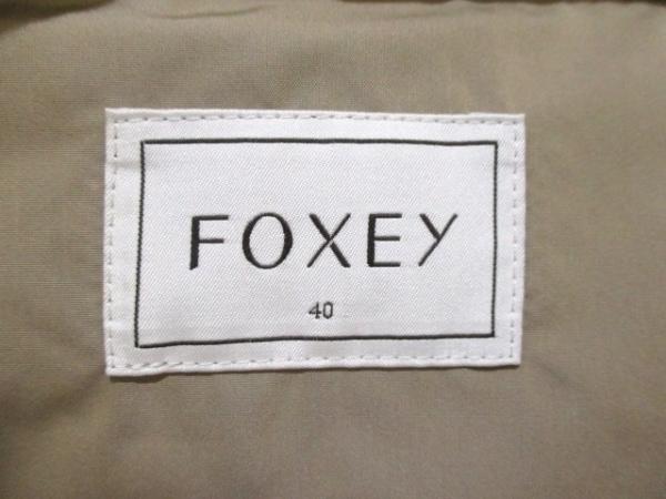 フォクシー ダウンベスト サイズ40 M レディース美品  ベージュ 3