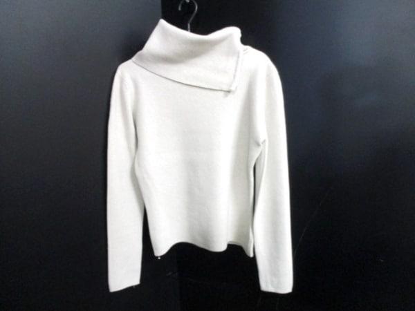 シャネル 長袖セーター サイズ42 L レディース美品  ベージュ 0