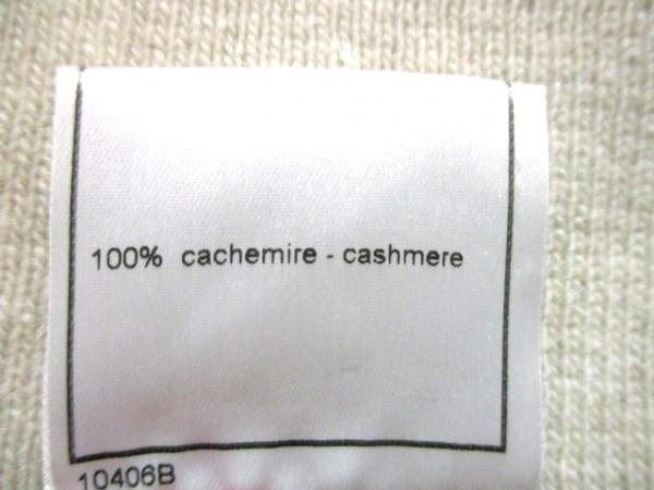 シャネル 長袖セーター サイズ42 L レディース美品  ベージュ 4