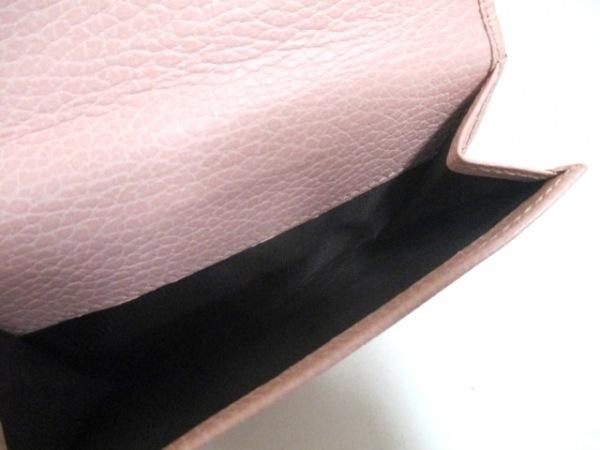 GUCCI(グッチ) Wホック財布美品  GGマーモント 456122 ピンク レザー 4