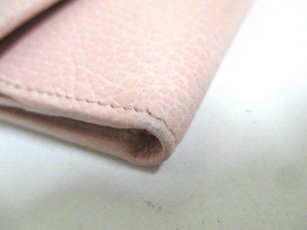 GUCCI(グッチ) Wホック財布美品  GGマーモント 456122 ピンク レザー 6