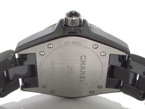 CHANEL(シャネル) 腕時計美品  J12 H1625 レディース 黒 3