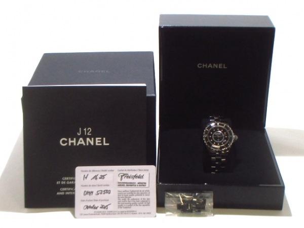 CHANEL(シャネル) 腕時計美品  J12 H1625 レディース 黒 8