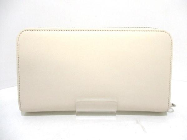 FENDI(フェンディ) 長財布美品  - 8M0299 アイボリー レザー 2