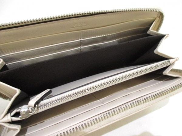 FENDI(フェンディ) 長財布美品  - 8M0299 アイボリー レザー 3