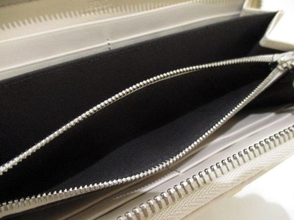 FENDI(フェンディ) 長財布美品  - 8M0299 アイボリー レザー 4