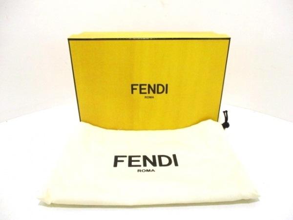 FENDI(フェンディ) 長財布美品  - 8M0299 アイボリー レザー 9