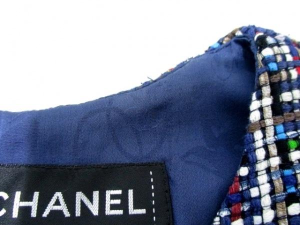 CHANEL(シャネル) ワンピース サイズ38 M レディース美品  ツイード 5