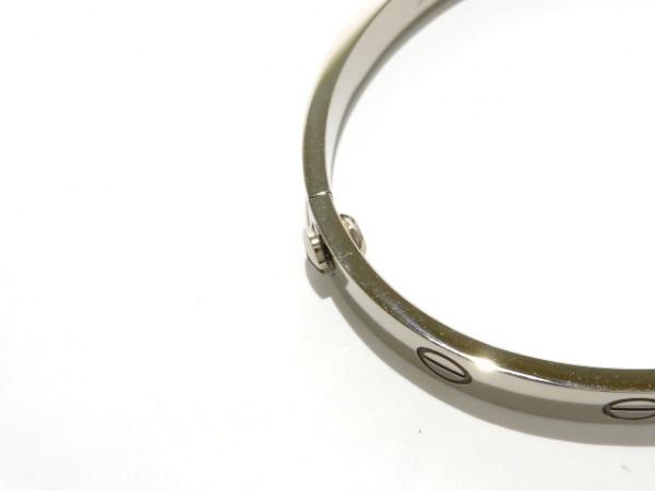 カルティエ バングル ラブブレス B6005600 K18WG サイズ:16/旧型 5