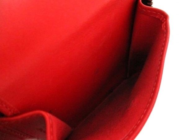 クリスチャンルブタン 2つ折り財布 黒×マルチ エナメル(レザー) 4