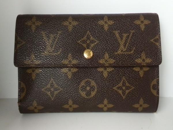 LOUIS VUITTON(ルイヴィトン) 3つ折り財布 モノグラム M61202 0