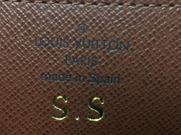 ルイヴィトン 名刺入れ モノグラム M62920 イニシャル刻印 4