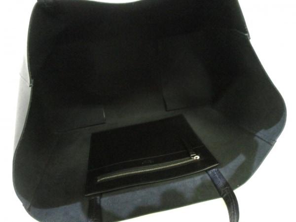 CELINE(セリーヌ) トートバッグ ホリゾンタルカバ 黒 レザー 5