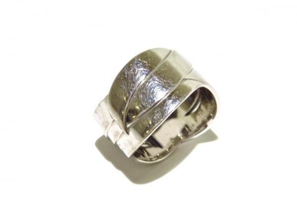 シャネル リング美品  ボルデュックリング K18WG×ダイヤモンド 7