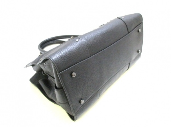 COACH(コーチ) ハンドバッグ美品  57078 黒 レザー 4