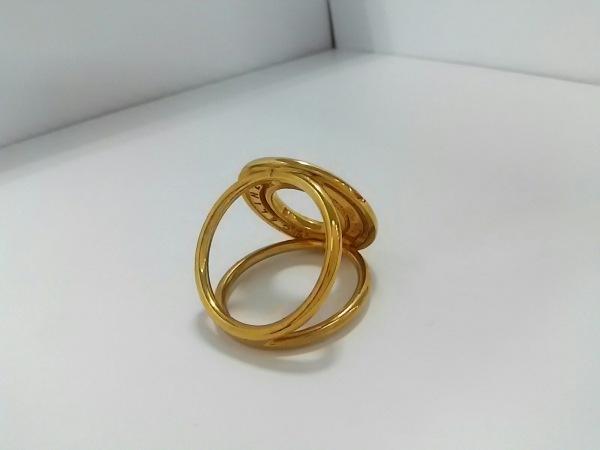 CELINE(セリーヌ) スカーフリング美品  金属素材 ゴールド 2