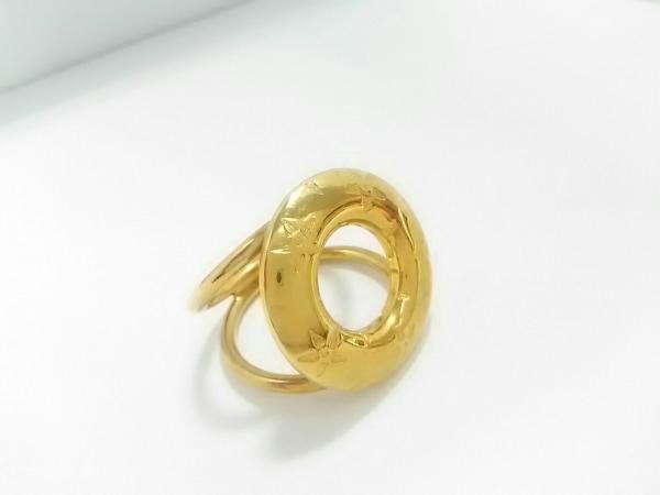 CELINE(セリーヌ) スカーフリング美品  金属素材 ゴールド 3