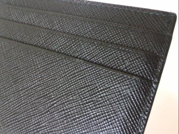 PRADA(プラダ) カードケース - 黒 サフィアーノレザー 5
