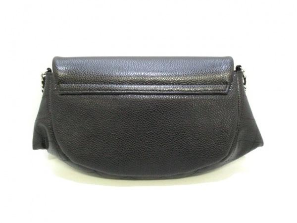 CHANEL(シャネル) 財布美品  ハーフムーン A40033 黒 キャビアスキン 2