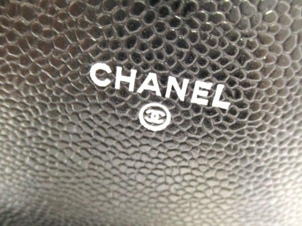 CHANEL(シャネル) 財布美品  ハーフムーン A40033 黒 キャビアスキン 4