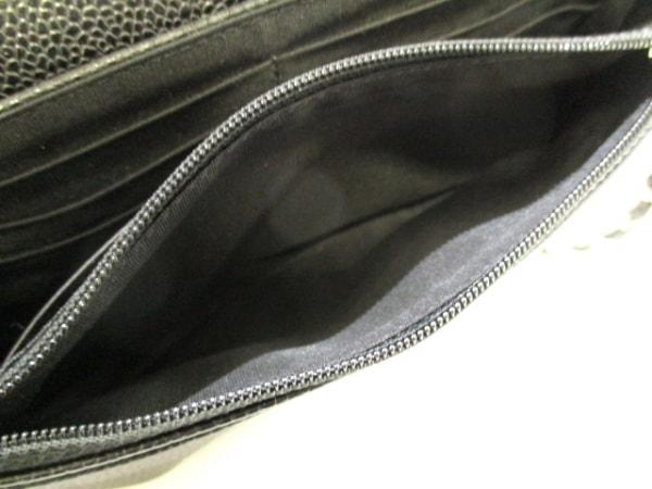 CHANEL(シャネル) 財布美品  ハーフムーン A40033 黒 キャビアスキン 5