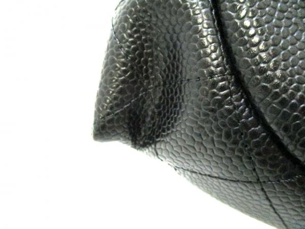 CHANEL(シャネル) 財布美品  ハーフムーン A40033 黒 キャビアスキン 6