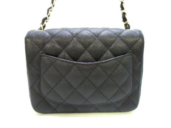 CHANEL(シャネル) ショルダーバッグ美品  ミニマトラッセ A69900 黒 3