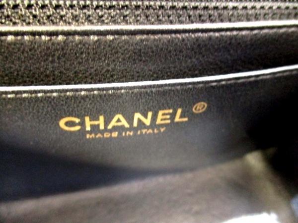 CHANEL(シャネル) ショルダーバッグ美品  ミニマトラッセ A69900 黒 6