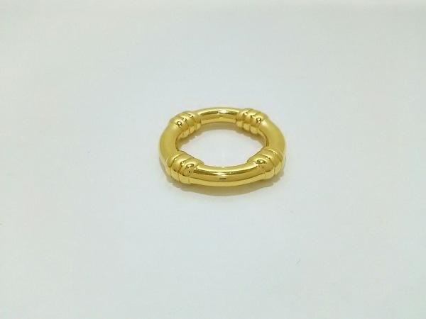 HERMES(エルメス) スカーフリング美品  ブーエ 金属素材 ゴールド 0