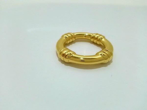 HERMES(エルメス) スカーフリング美品  ブーエ 金属素材 ゴールド 2