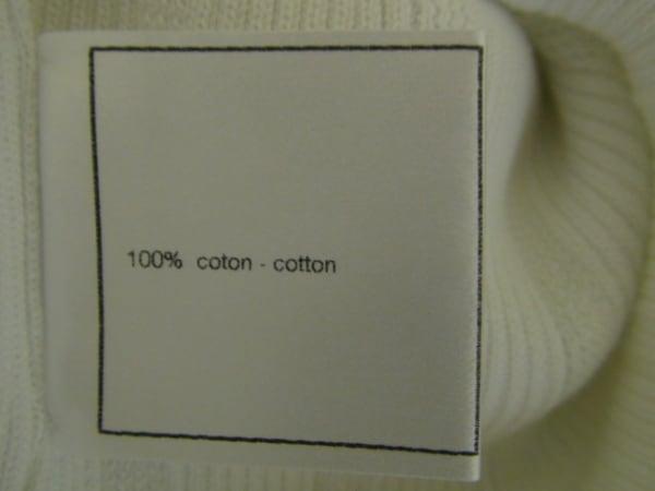 シャネル ノースリーブカットソー サイズ42 L レディース美品  刺繍 4