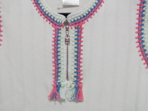 シャネル ノースリーブカットソー サイズ42 L レディース美品  刺繍 6
