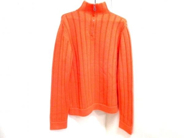 HERMES(エルメス) 長袖セーター サイズS メンズ オレンジ 0