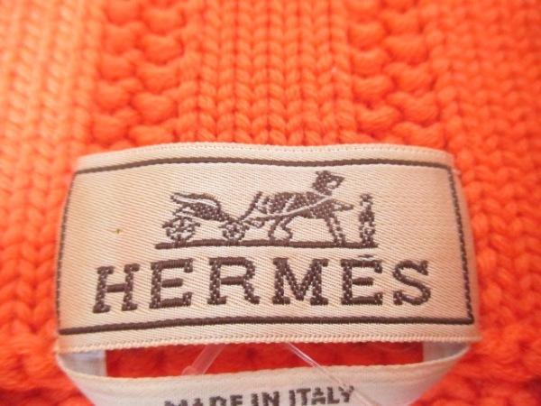 HERMES(エルメス) 長袖セーター サイズS メンズ オレンジ 3