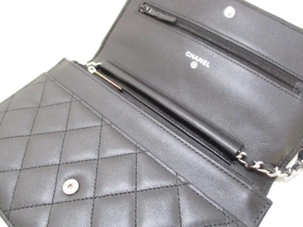 CHANEL(シャネル) 財布美品  カンボンライン A46646 黒 3