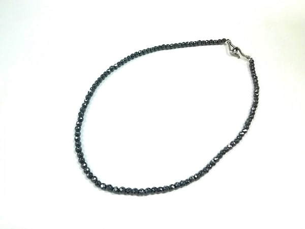 サマンサキングズ チョーカー美品  金属素材×シルバー 黒 2