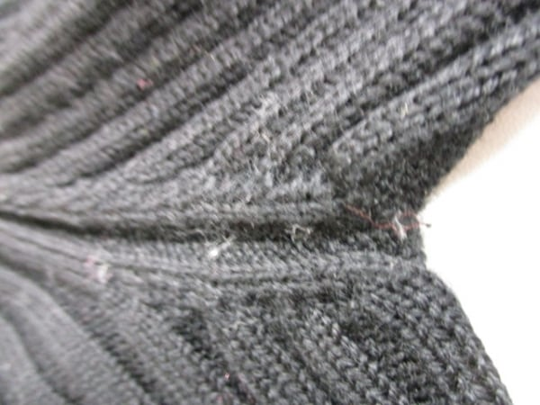 シャネル 長袖セーター サイズ38 M レディース 黒 タートルネック 6