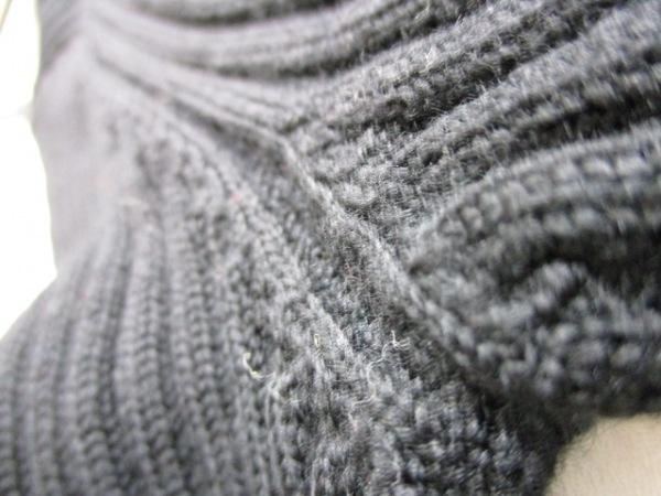シャネル 長袖セーター サイズ38 M レディース 黒 タートルネック 7