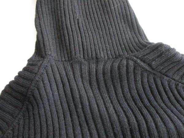 シャネル 長袖セーター サイズ38 M レディース 黒 タートルネック 8