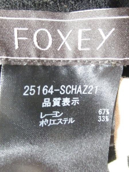 フォクシー パーカー サイズ36 S レディース 25164 黒×ベージュ 3