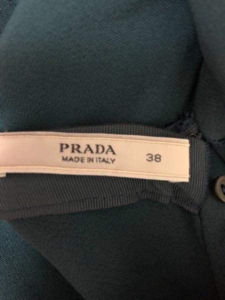プラダ ワンピース サイズ38 S レディース美品  ダークグリーン 4