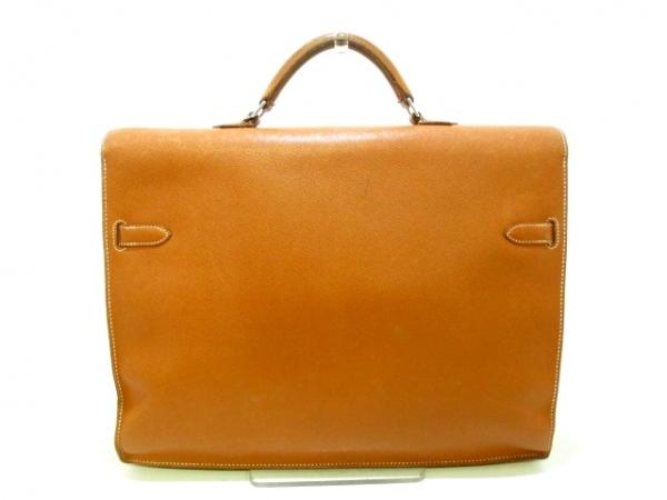 エルメス ビジネスバッグ ケリーデペッシュ38 ゴールド シルバー金具 3