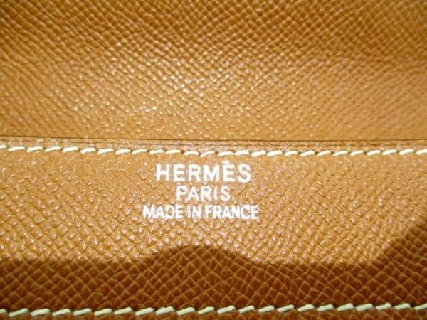 エルメス ビジネスバッグ ケリーデペッシュ38 ゴールド シルバー金具 6