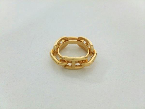 エルメス スカーフリング シェーヌダンクル 金属素材 ゴールド 0