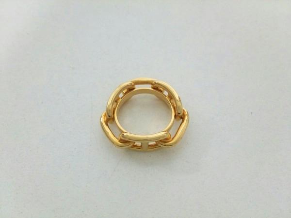 エルメス スカーフリング シェーヌダンクル 金属素材 ゴールド 4
