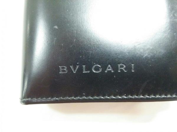 BVLGARI(ブルガリ) 名刺入れ - 黒 レザー 4