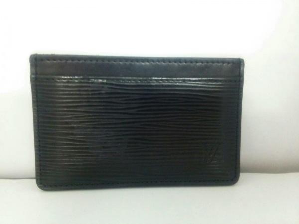 ルイヴィトン カードケース エピ美品  ポルト カルト・サーンプル 0