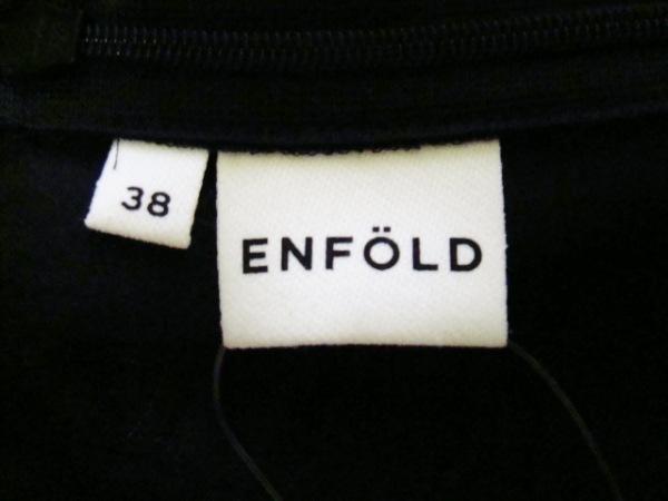 エンフォルド オールインワン サイズ38 M レディース 黒 ベアトップ 3