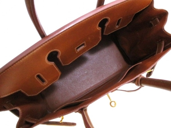 HERMES(エルメス) ハンドバッグ バーキン30 ノアゼット ゴールド金具 2